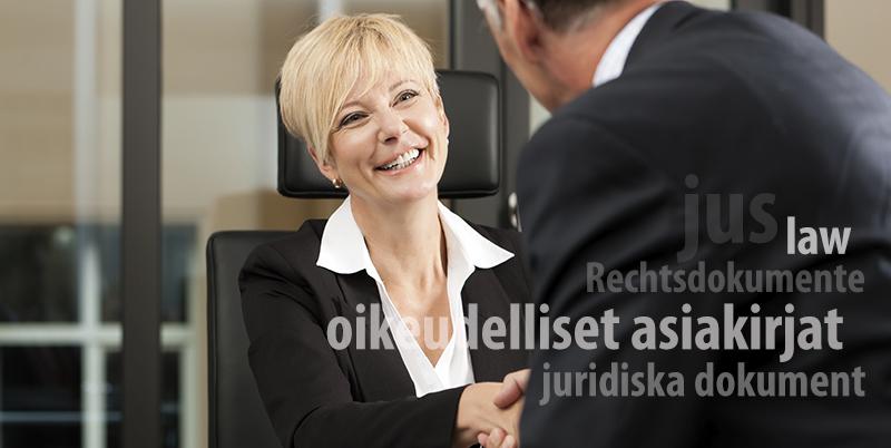juridisk översättning, översättning av juridik, översättning av kontrakt, kontraktsöversättning